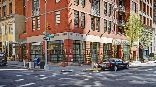 Hotel Giraffe is located on the corner of 26th and Park Avenue South