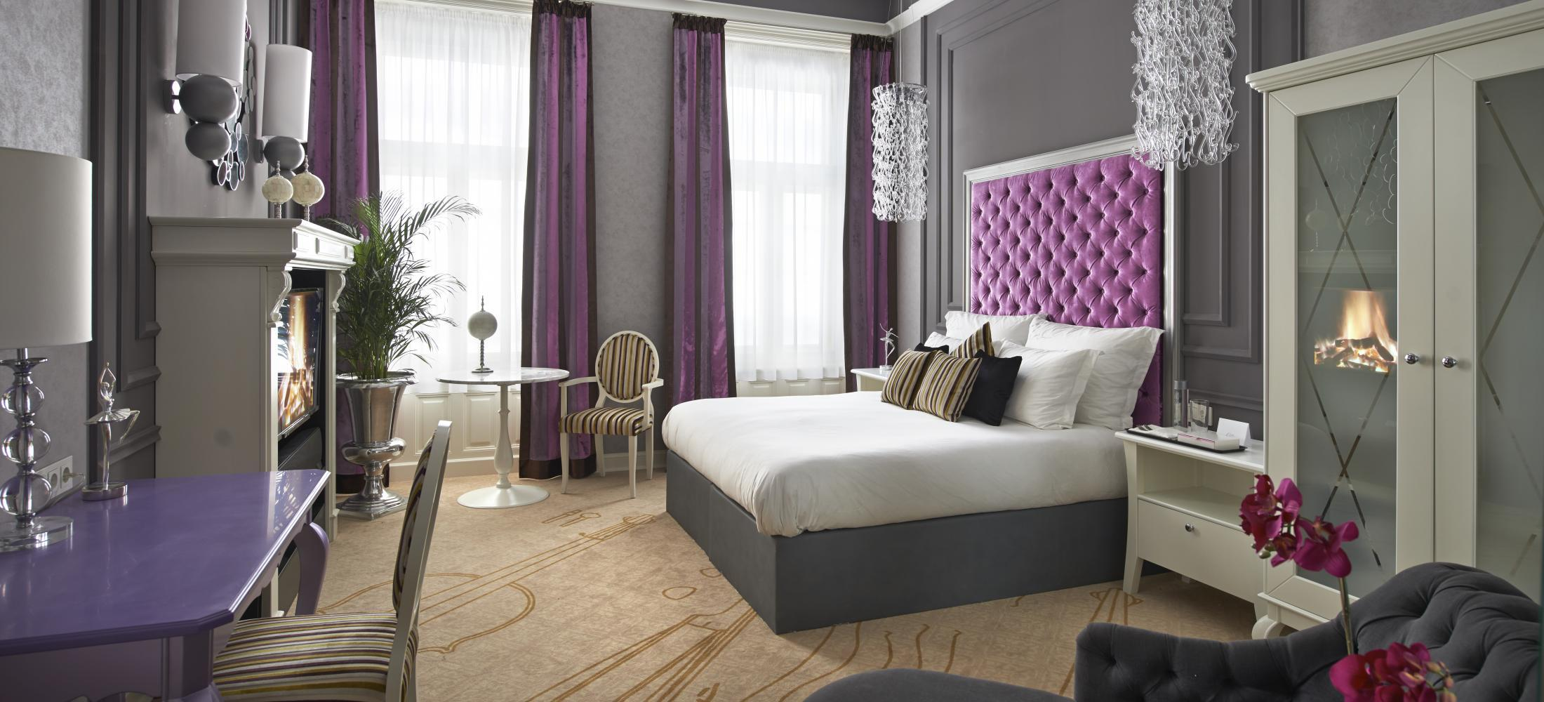 The Aria Hotel Budapest is a luxury boutique hotel with an exquisite design inspired by music.