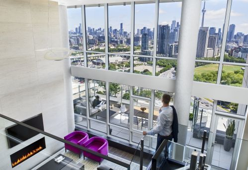 Bi-Level Penthouse Suite
