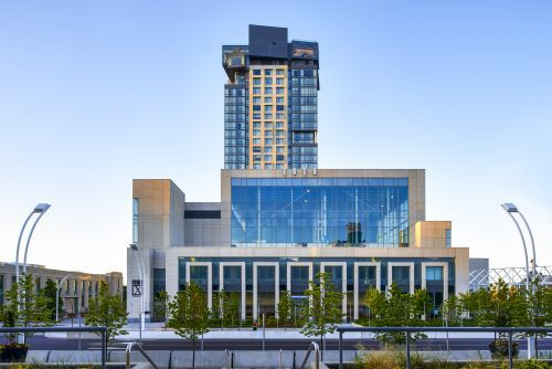 Exterior View of 10XTO and Hotel X Toronto