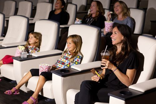 Enjoy movies in the Screening Room during your stay.