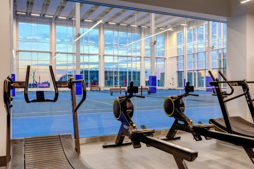 10XTO Fitness Facility with TechnoGym Equipment