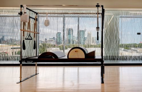 Cadillac Reformer in 10XTO Pilates Studio