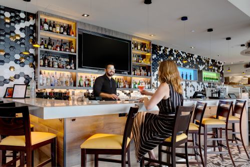 The Bar  at Maxx's Kitchen, Hotel X Toronto